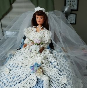 Handmade Fairy tale bride, wedding doll